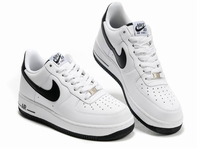 nike air force 1 blanche noire