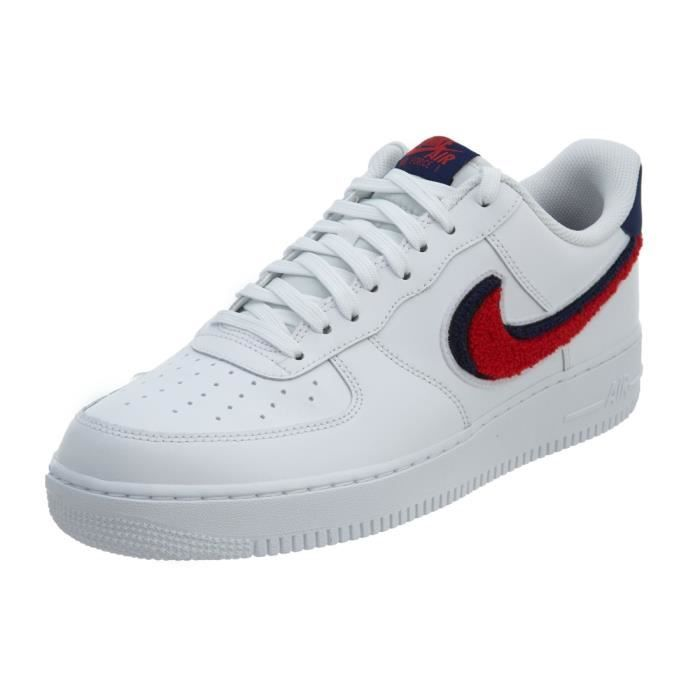 nike air force 1 homme rouge et blanche